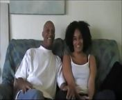 Sexy Ebony Makes Porn Debut With Husband At Home Debut.mp4 from ebony makes