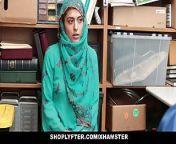 Shoplyfter - Hot Muslim Teen Caught & Harassed from ebony muslim