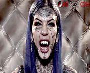 HO HUNTERS - Tattooed ghost Amber Luke wants to fuck from luke bangla choti