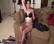 USAWives mature Lori Leane masturbating alone from lean g