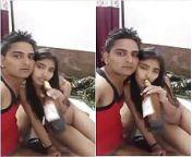 Today Exclusive-Desi Lover Drinking Beer Part... from desi cum drink sex 3gp bhabhi sex hindi audio
