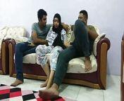 Nginap Di Rumah Om Luqman Lalu Main Bareng Tante Annisa from cantik ngewe di rumah