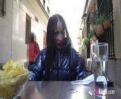 Blowing cocks around the city! A dare for Monica Neni from xxx neni
