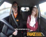 Fake Driving School Cute redhead Ella Hughes fucks and eats instructors cum from orissa puri oriya school sex vide